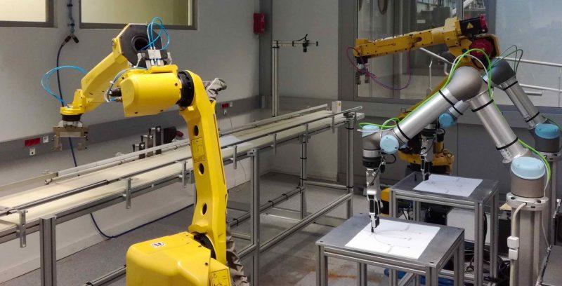 L'espace robotique au sein de la plateforme mécanique